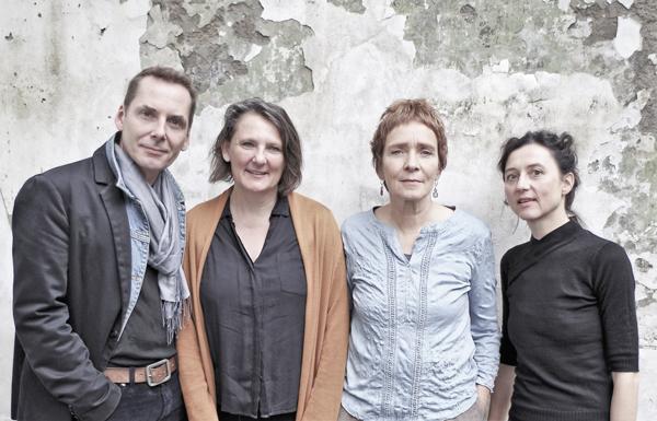 vl.: Olaf Reitz, Ute Völker, Karola Pasquay, Caroline Keufen (Foto: Uwe Kampf)